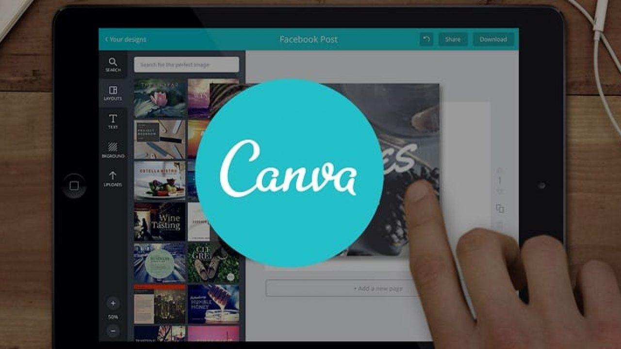 Get Free Graphics and Edit For Free with Canva